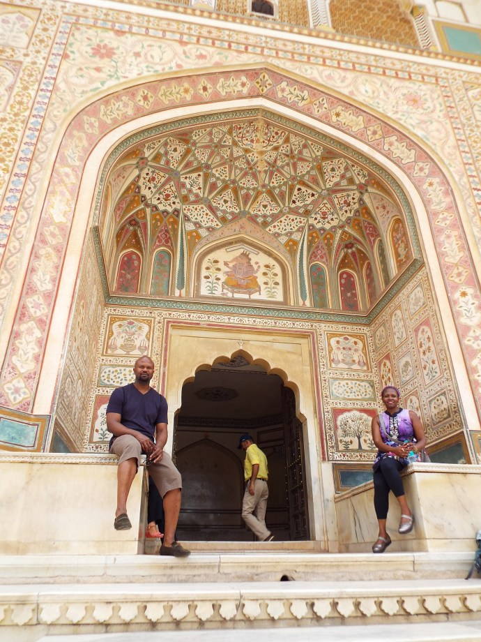 Entrance to the Queen's Palace at Amber Fort