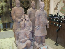 This reproduction features soldiers of various ranks.