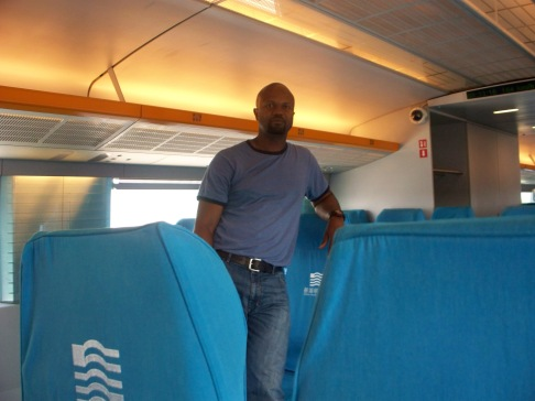 T on the Maglev, which is actually German.