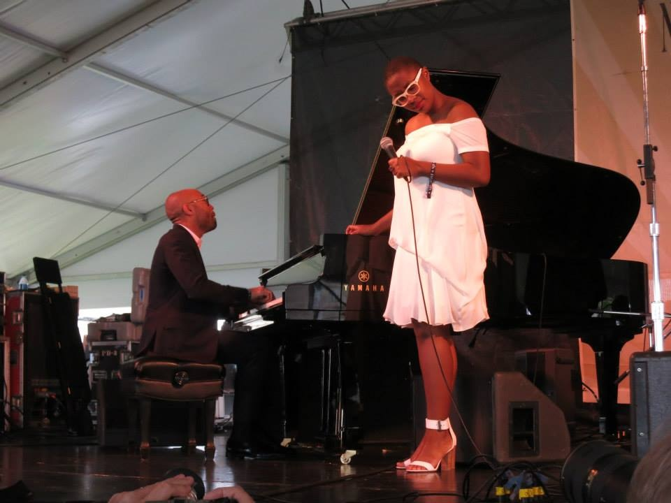 Cecile McLorin Salvant , adding life and light to some great American standards.