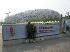 The Bird's Nest. Much of the Olympic site was already falling into disrepair.
