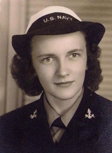 Ms. Dunlap serving in WWII