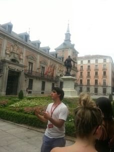 Sebastian, our wonderful Madrid guide from Sandeman's New Europe Walking Tours.