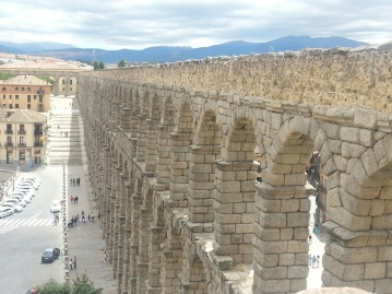 Roman Aqueducts at Segovia
