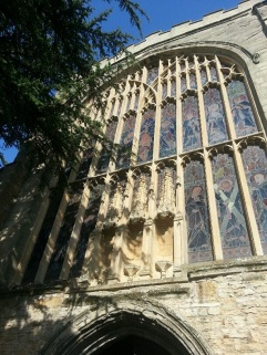 Shakespeare's church, Holy Trinity Church, in Stratford-upon-Avon.