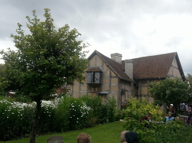 William Shakespeare's birthplace and childhood home.