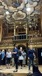 Walking the stage at the Wanamaker