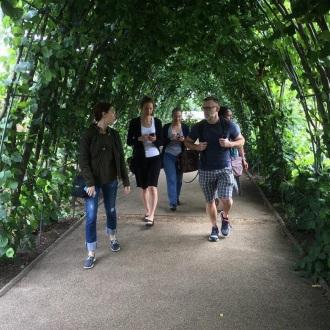 Strolling through Kensington Gardens