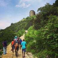 Riding up to Citadelle La Ferriere felt like a fitting end to this pilgrimage.