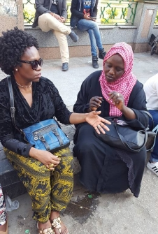 My lovely Sudanese henna artist
