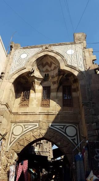 One of Islamic Cairo's 11th Century gates
