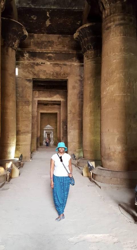 At Edfu Temple