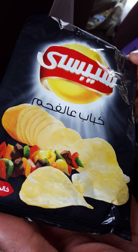 Kabob flavored chips