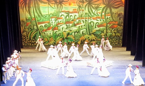 A glimpse of the Ballet Folklorico's Wednesday evening spectacilar