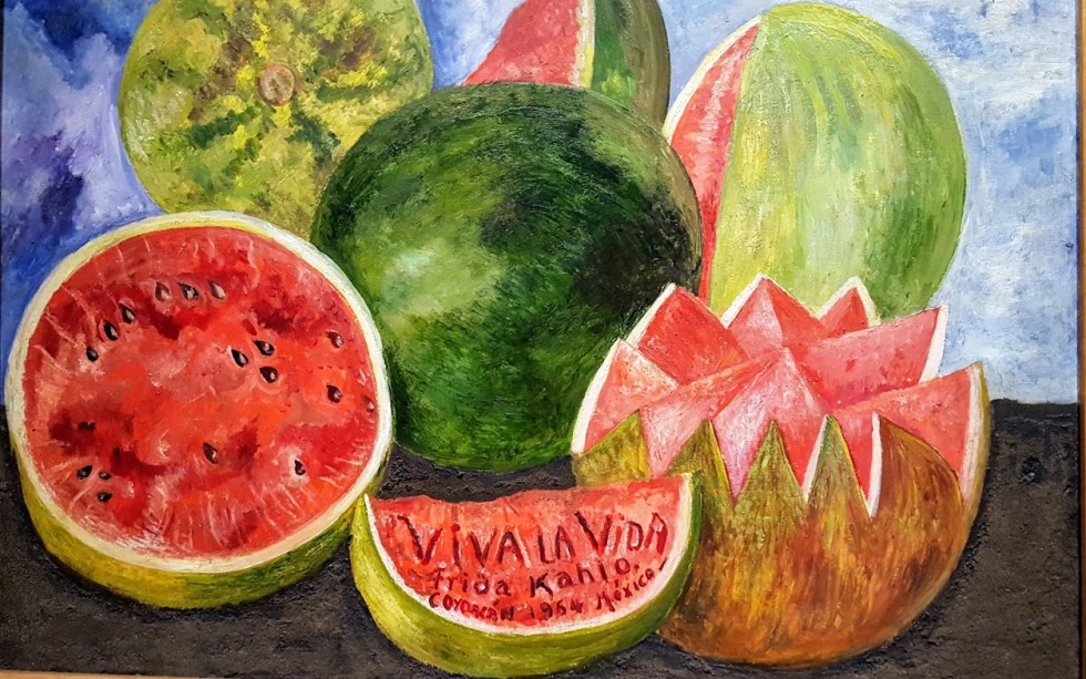 Frida's watermelons, a celebration of life and Mexico
